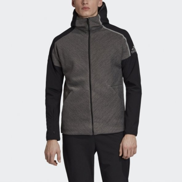 ADİDAS M ZNE hd hybrid Erkek  Giyim Sweatshirt EB5224 (Beden: S)