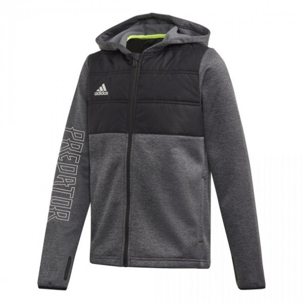 ADİDAS YB P PAD FZ HD Çocuk  Giyim Sweatshirts ED5692 (Beden: 8-9 yaş)