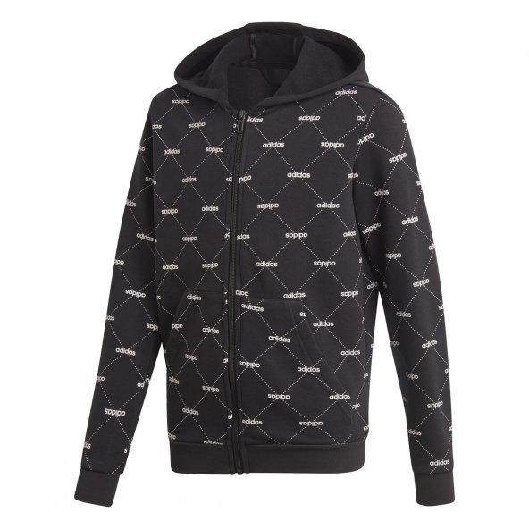 ADİDAS YB CF COVERUP Çocuk  Giyim Sweatshirts EI7911 (Beden: 9-10 yaş)