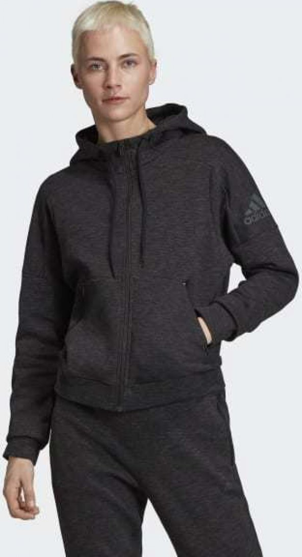 ADİDAS W ID Melang Hd Kadın  Giyim Sweatshirts FI4089 (Beden: S)