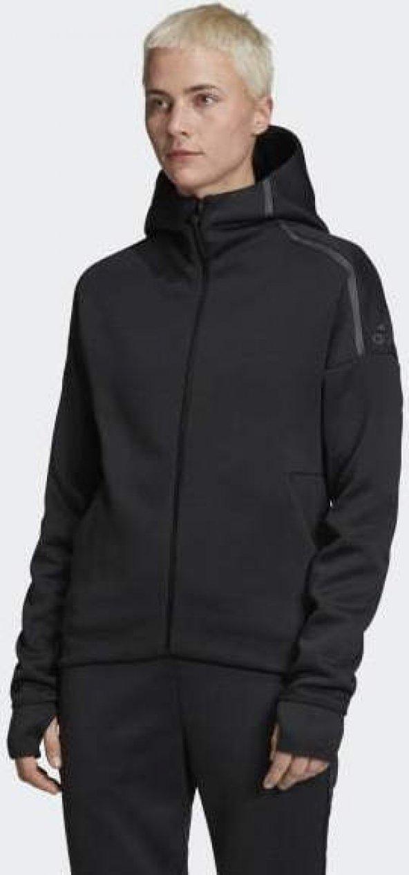 ADİDAS W Zne Hd FR Kadın  Giyim Sweatshirts EJ8748 (Beden: S)