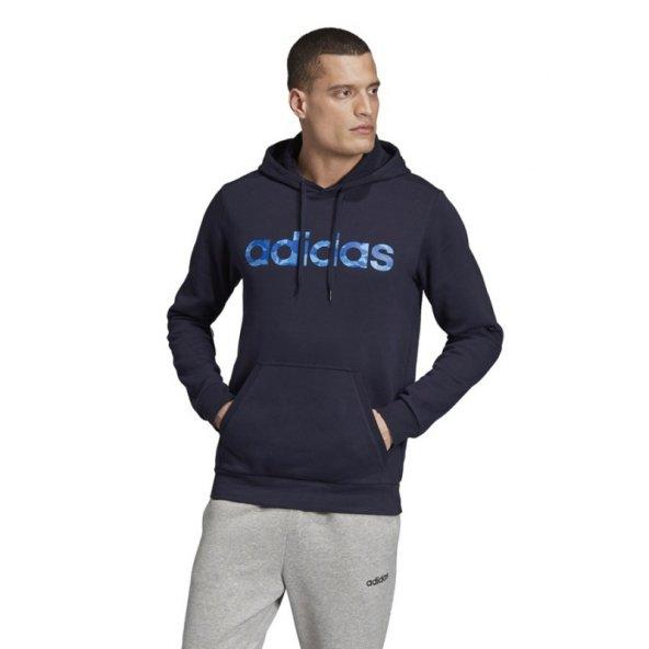 ADİDAS E CAMO LIN SWEA Erkek  Giyim Sweatshirt EI9732 (Beden: XS)