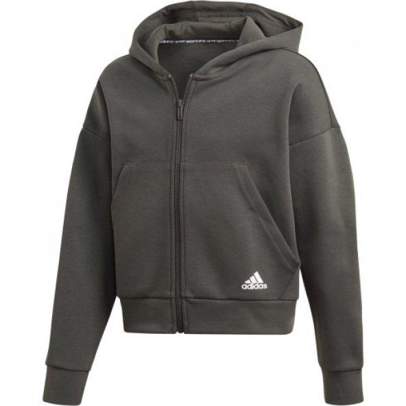 ADİDAS YG MH 3S FZ HD Çocuk  Giyim Sweatshirts ED4626 (Beden: 10-11 yaş)