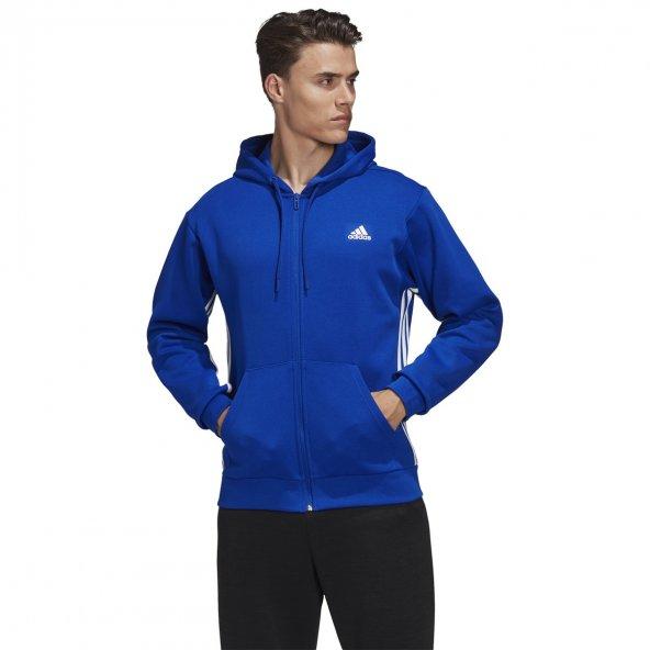 ADİDAS M MH 3S FZ Erkek  Giyim Sweatshirt EB5282 (Beden: L)