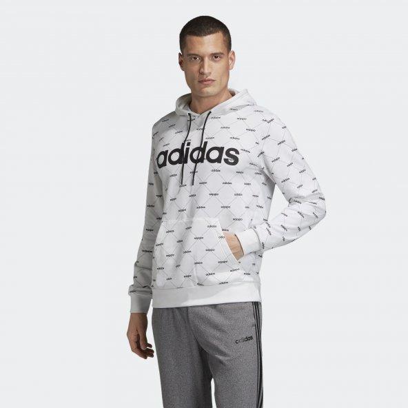 ADİDAS M CORE FAV HDY Erkek  Giyim Sweatshirt EI6279 (Beden: S)