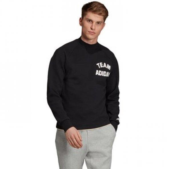 ADİDAS M VRCT Crew Erkek  Giyim Sweatshirt EA0383 (Beden: L)