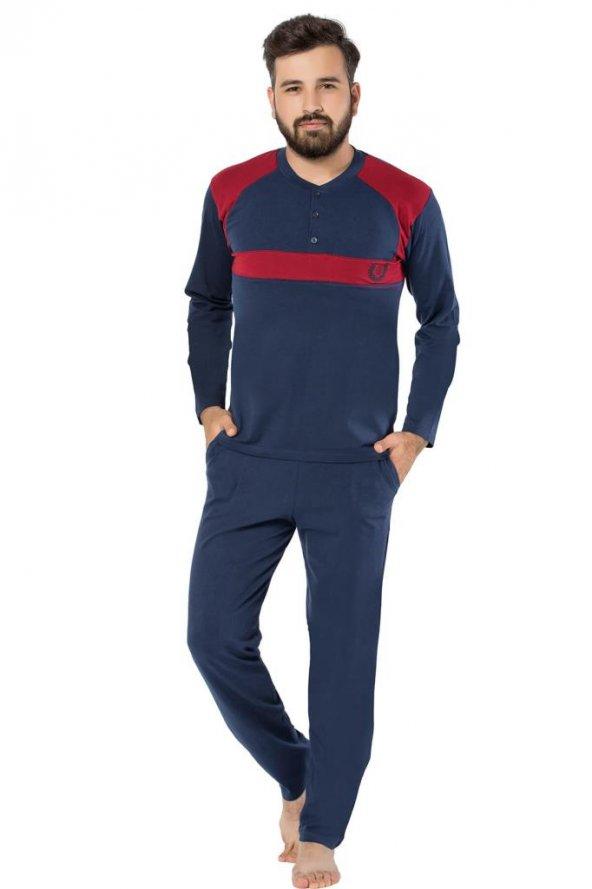 Sude Erkek Uzun Kol Pjama Takım SU0225