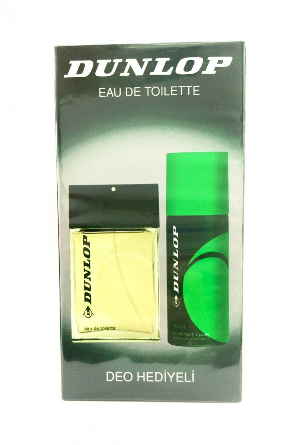 Dunlop Klasik Yeşil Edt 100 ml + 150 ml Deodorant Erkek Parfüm Seti