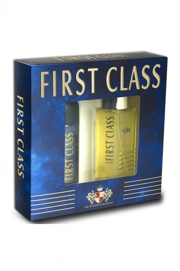 First Class Edt 100 ml + Deodorant Erkek 150 ml Parfüm Seti