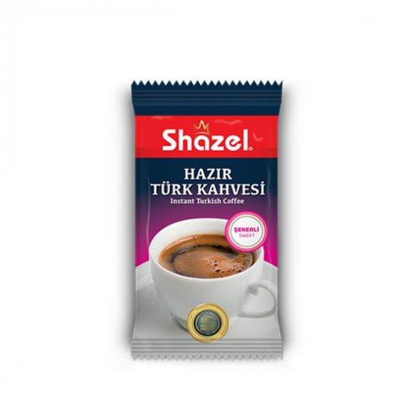 Shazel Hazır Türk Kahvesi Şekerli 11 Gr (12 Adet)