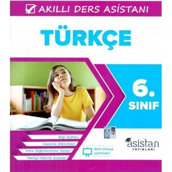 Asistan Yayınları 6. Sınıf Türkçe Akıllı Ders Asistanı