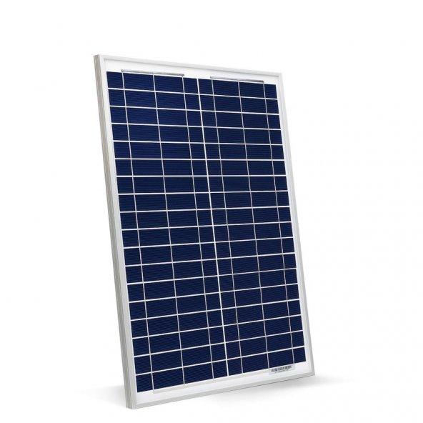 40W Polikristal Fotovoltaik Panel Güneş Enerjisi Paneli
