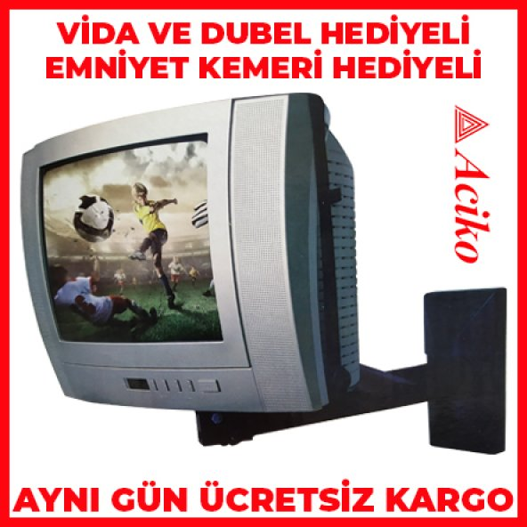 37 Ekran Tv Duvar Askı Aparatı / Tv Stand / Tv Aparat