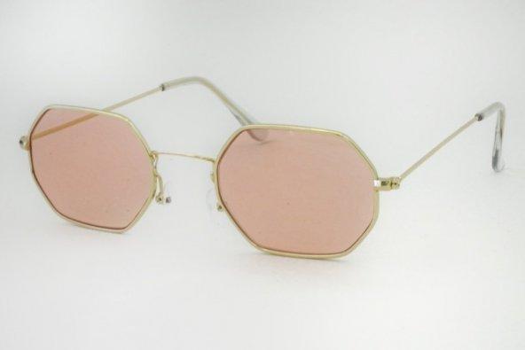 Pembe Sekizgen Gözlük