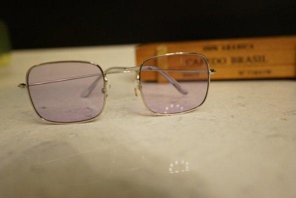 Mor Dikdörtgen Gözlük