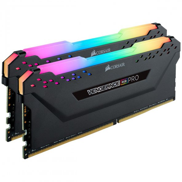 Corsair Vengeance RGB PRO 32GB (2x16) 2666MHz DDR4 CMW32GX4M2A2666C16 Bellek