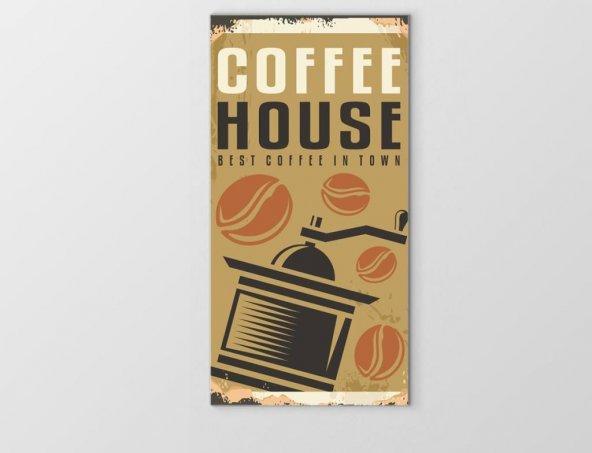 Coffee Evi Reklam Afişi Tablosu