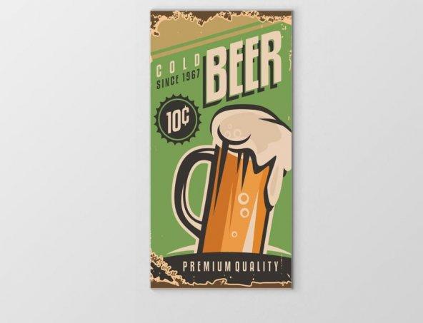 Bira Reklam Afişi Tablosu