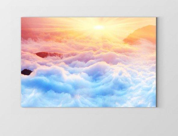 Gündoğumu Gökyüzü Manzarası Tablosu