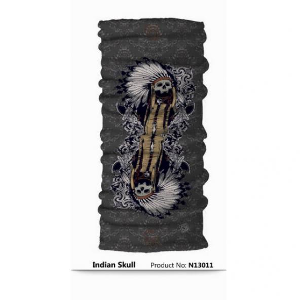 Narr Buff Bandana ındian Skull -Çok Fonksiyonlu