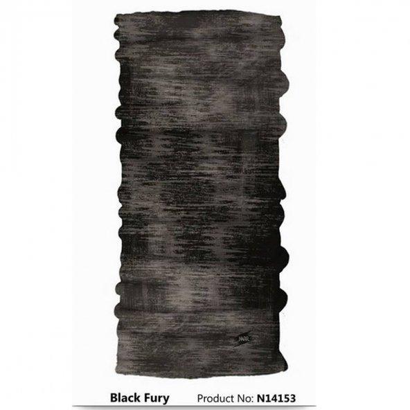 Narr Buff Bandana Black Fury -Çok Fonksiyonlu