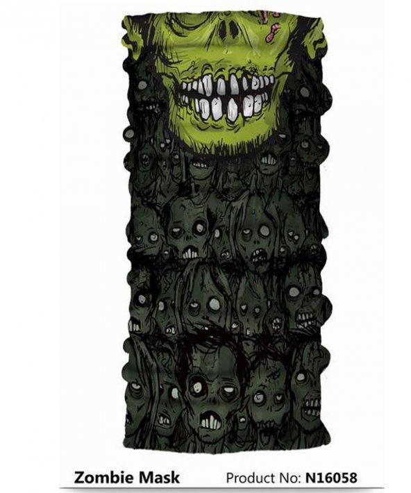 Narr Buff Bandana Zombie Mask  -Çok Fonksiyonlu