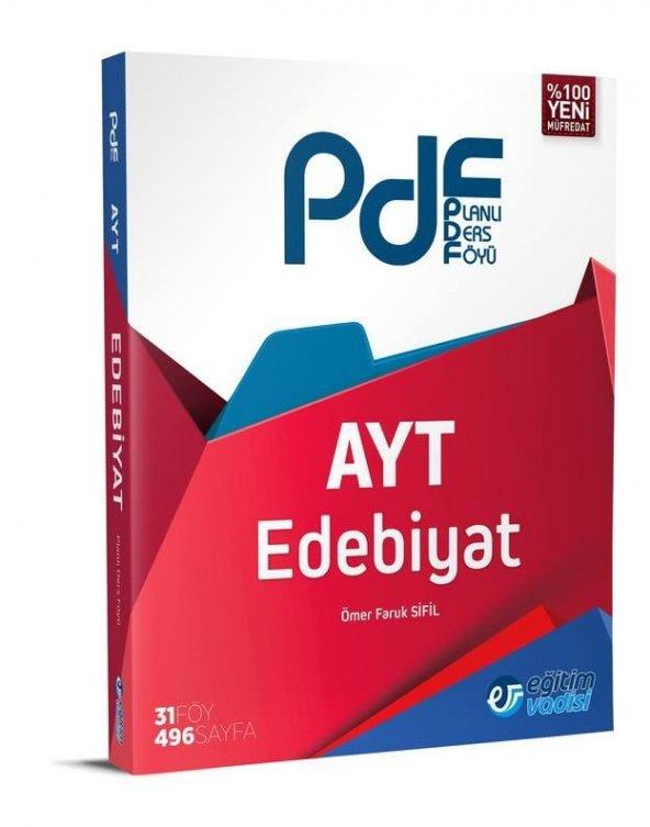 Eğitim Vadisi AYT Edebiyat PDF (Planlı Ders Föyü)