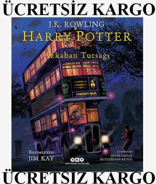 Harry Potter ve Azkaban Tutsağı (Yapı Kredi Yayınları) (Resimli Ö