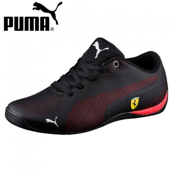 Puma SF Drift Cat 5 Ultra Jr 362703 02 Kadın Siyah-Kırmızı Günlük