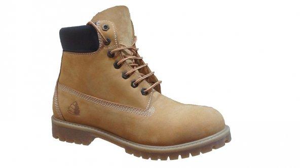 Trek.Shoes Nubuk Waterproof Erkek Tımbırlent Sarı Bot