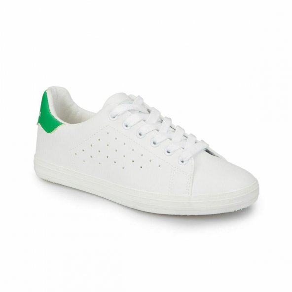 Lumberjack Betina Kadın Beyaz-Yeşil Günlük Spor Ayakkabı