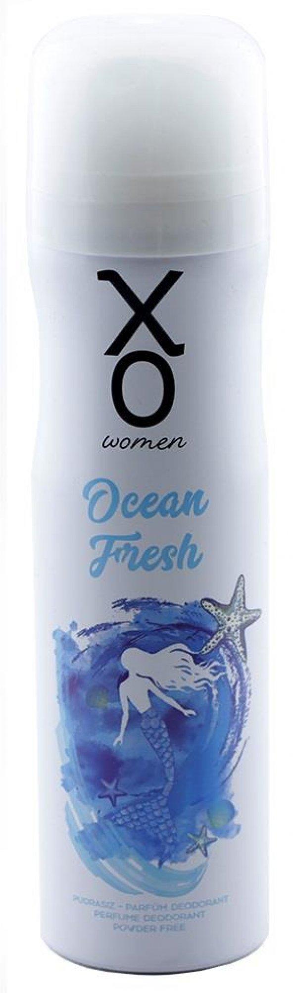 DEO. XO OCEAN FRESH WOMEN 150 ML