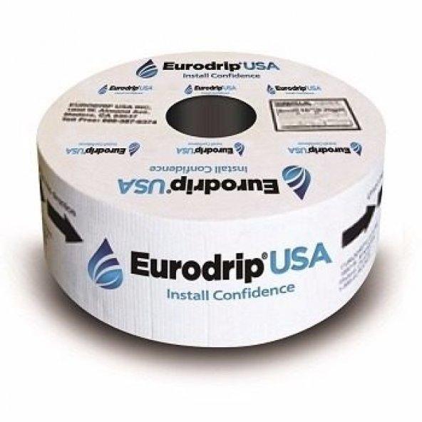 EURODRİP DAMLAMA 6 mil 20 cm 2,4 lt (2400 MT) 16 çap tek yıllık en ucuz