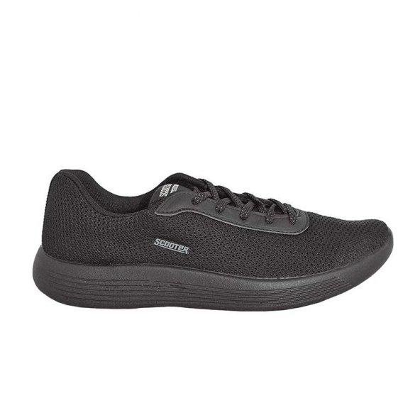 Scooter M5604TS Erkek Tekstil Siyah Günlük Spor Ayakkabı
