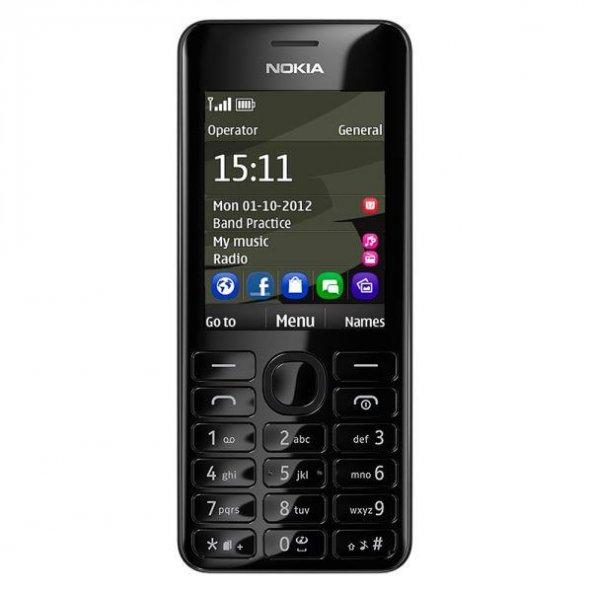 Nokia 6600 (206) Siyah Tuşlu Cep Telefonu(İthalatçı Garantili)
