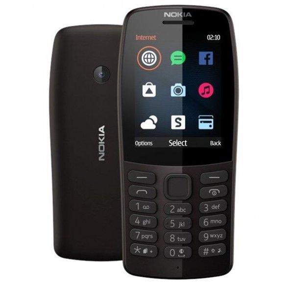 Nokia 210 Siyah Tuşlu Cep Telefonu(İthalatçı Garantili)