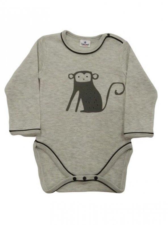 Luggi Baby Erkek Maymun Uzunkollu Badi LG-4520