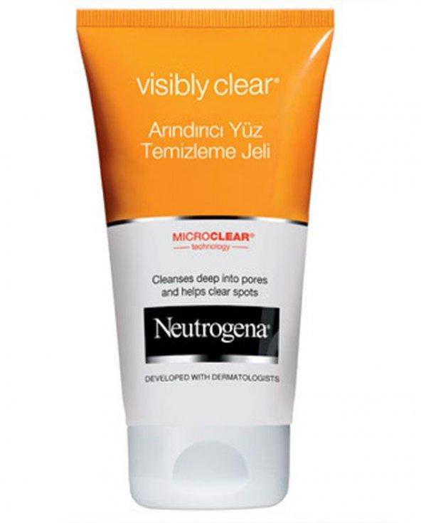 Neutrogena Visible Clean Arındırıcı Temizleme Jeli 150Ml