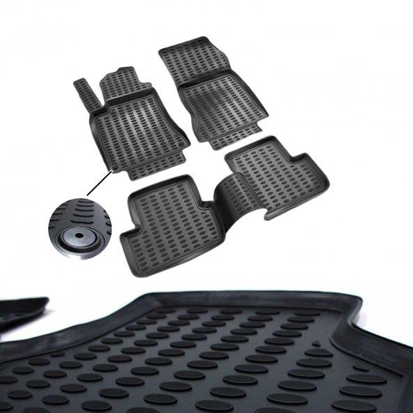 Mercedes Cla Ve A Paspas 3D Havuzlu Siyah