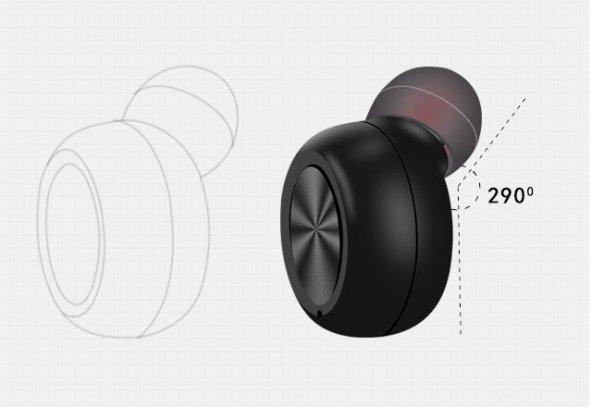 Marstec MBT-19 Tekli Bluetooth Kulaklık (Siyah)