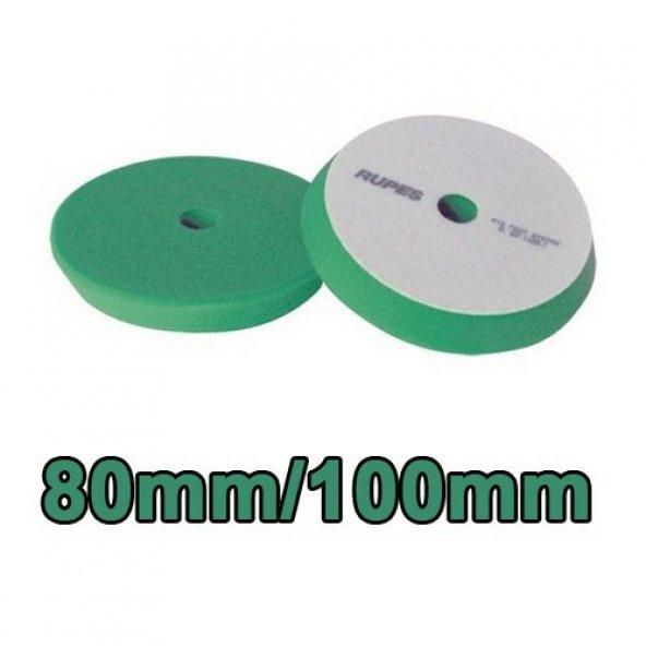 Rupes Yeşil Pasta Süngeri 80/100 mm