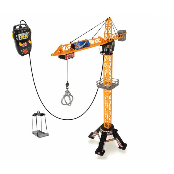 Dickie Kule Vinç Şantiye Oyun Seti Kumandalı 120cm