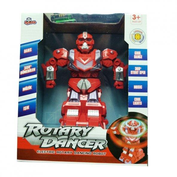 Vardem Oyuncak Pilli Dansçı Robot (Işıklı Ve Sesli)