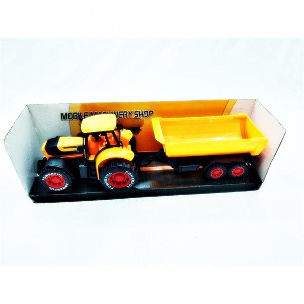 Samatlı Oyuncak Römorklu Traktör