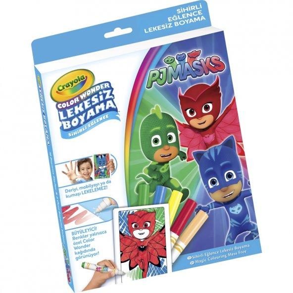 Crayola Color Wonder Lekesiz Boyama Pijamaskeliler