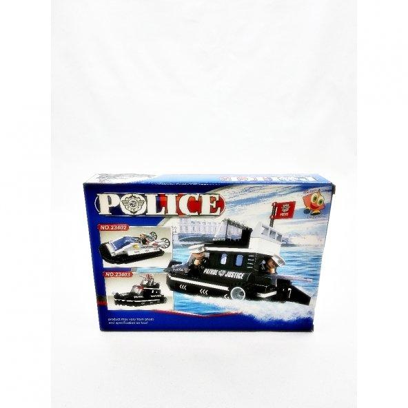 Bircan Oyuncak Bricks 133 Parça Polis Seti