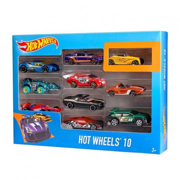 Hot Wheels 10lu Araba Seti