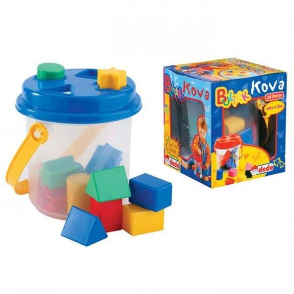 Dede Aklımda Bul-Tak Kova 14 parça Lego