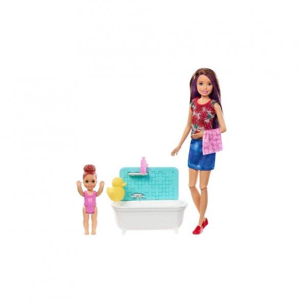 Barbie Bebek Bakıcısı Barbie Bebekler FHY89-FXH05