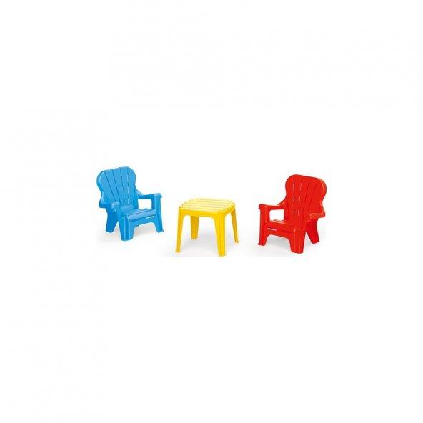 Dolu Masa Sandalye Seti